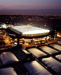 wimbledon at night